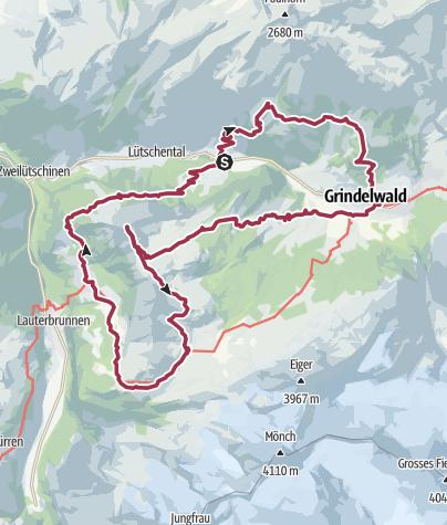 Karte / Schweiz 2020 (29.02. - 01.03.)