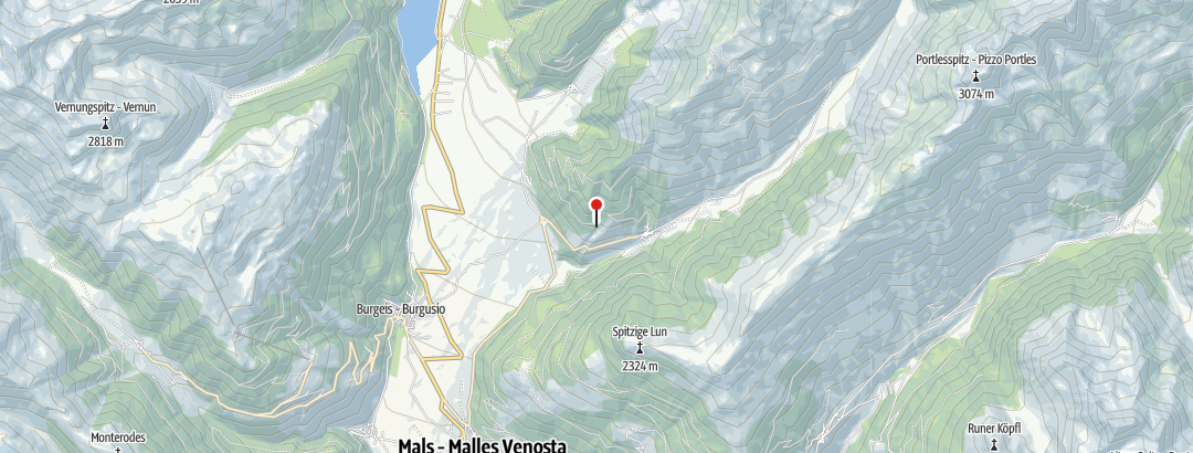 Karte / Wanderwoche Vinschgau