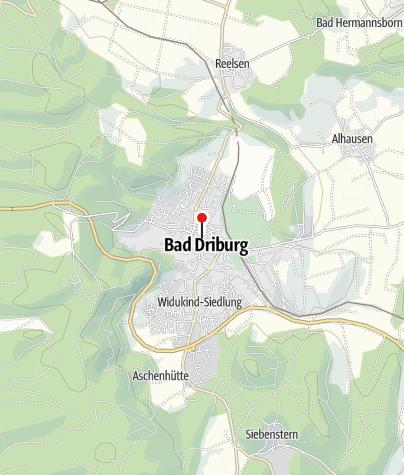 Karte / Glasmacherdenkmal in Bad Driburg