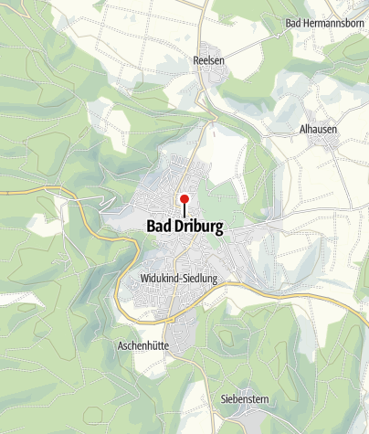 Map / Glasmuseum in Bad Driburg
