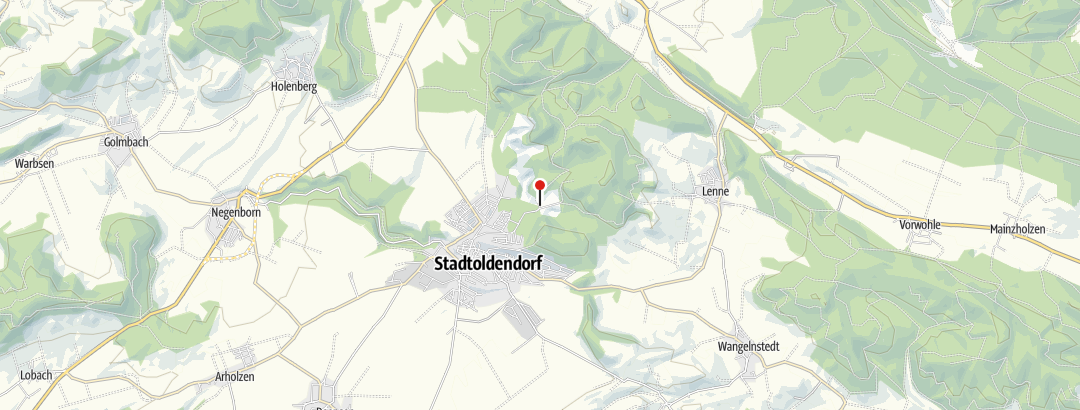 Karte / Durch den Homburgwald zur Burgruine (Landsommerführung)