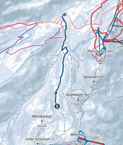 Mappa / Randonnée planifiée le 9 févr. 2020 2:04:25 PM