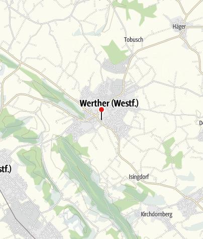 Kaart / Stadthotel Werther