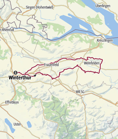 Mappa / Tour aus GPX-Track am 14. Februar 2020