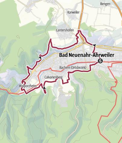 Karte / Rund um Ahrweiler