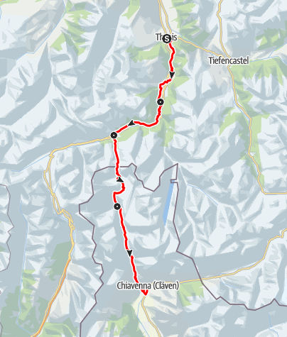 Map / 50 Via Spluga