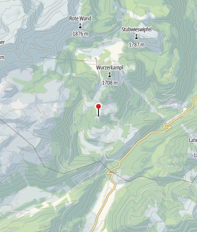 Karte / Plimalm 1330m