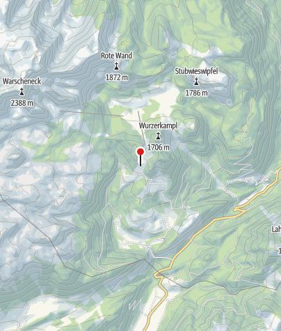 Karte / Ob.Gameringalm 1460m