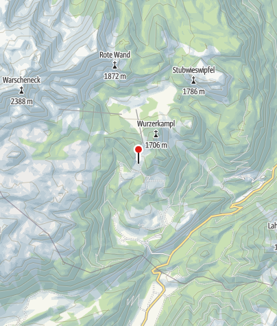 Map / Ob.Gameringalm 1460m