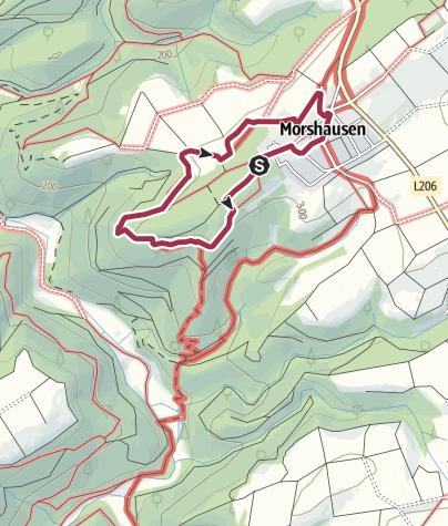 Karte / Traumschleifchen Murscher Aussichten