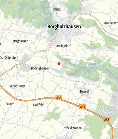 Map / Burg Ravensberg