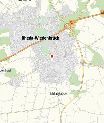 Kaart / Oude binnenstad van Wiedenbrück