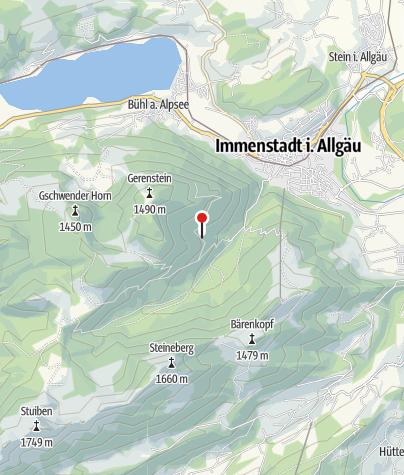 Map / Wildengund-Alpe