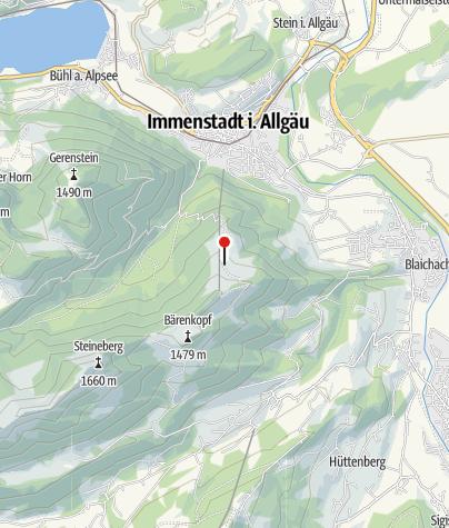 Karte / Schwanden-Alpe