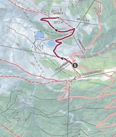 Karte / Variante Trogalm
