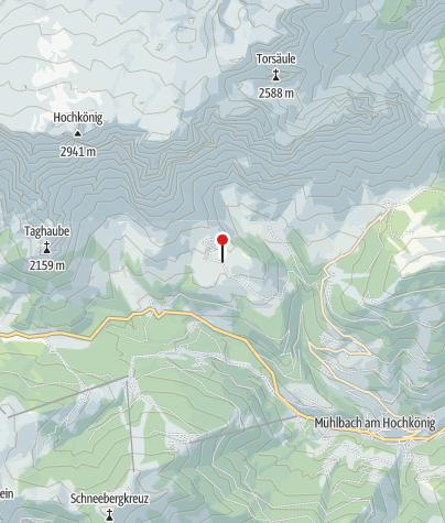 Карта / Berghütte