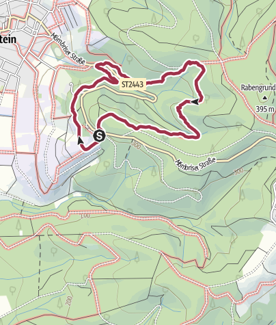 Map / Hiking Trail on March 28, 2020 at 13:51
