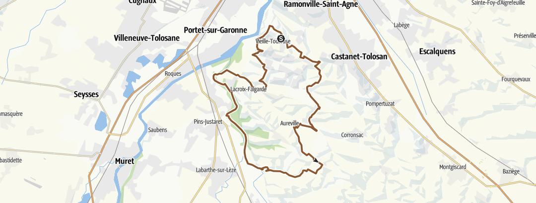Карта / Beaux singles sur Vieille-Toulouse