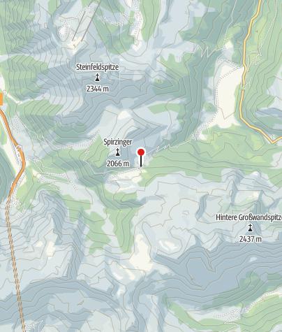 Karte / Südwiener Hütte