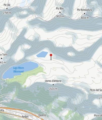 Karte / Capanna Cadagno