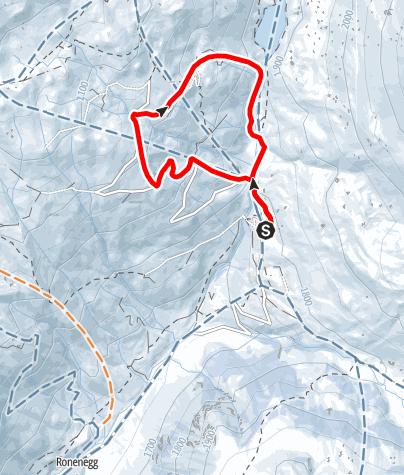 Map / Rundtour Rätikonblick (markiert Trail Nr. 22)
