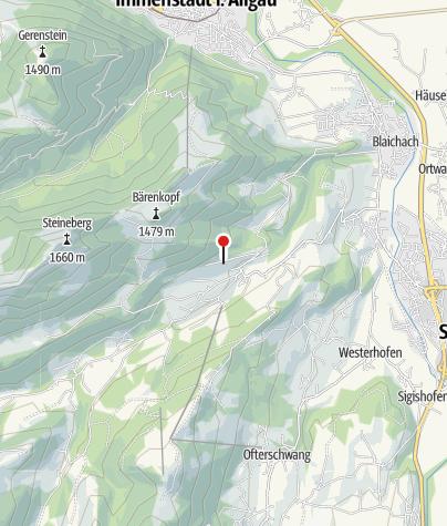 Karte / Blick auf Gunzesried