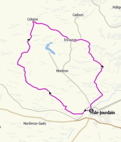 Mapa / Gascogne de Brique, Gascogne de Pierre
