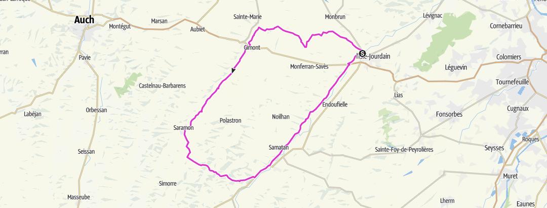 Mapa / De rivières en coteaux