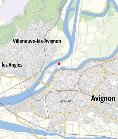 Map / Pont Saint-Bénézet