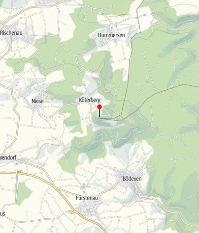 Karte / Köterberg