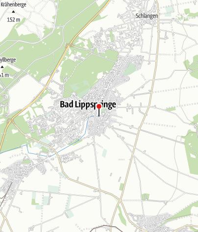 Karte / Liborius-Trinkhalle Bad Lippspringe