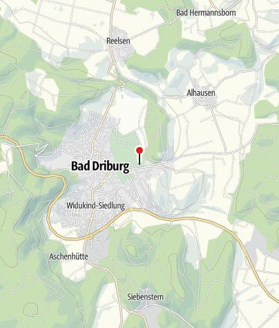 Karte / Gräflicher Park Bad Driburg