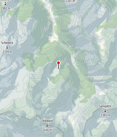 Map / Duisitzkarseehütte