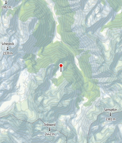 Map / Fahrlechhütte