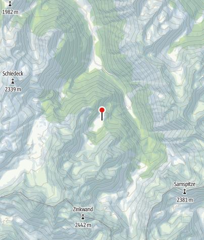 Karte / Fahrlechhütte