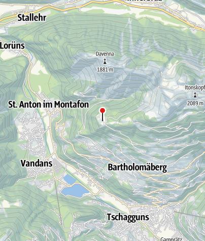 Karte / Kapelle Rellseck