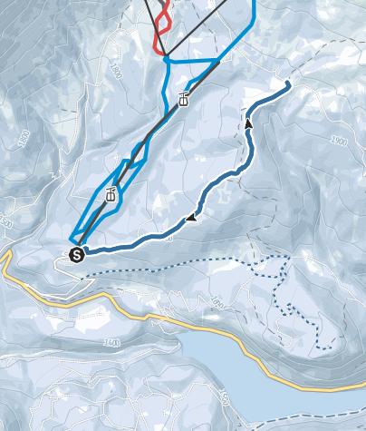 Cartina / La Malga Canvere da Castelir