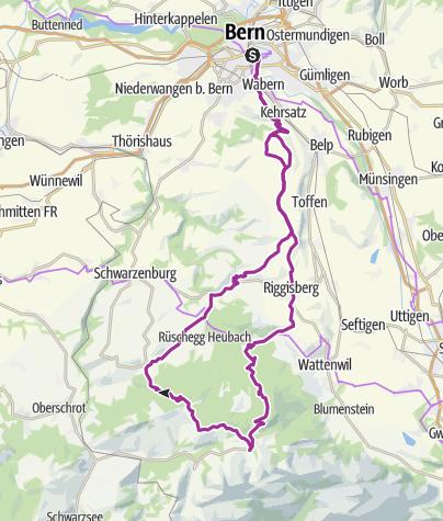 Map / Bern - Gernigelpass