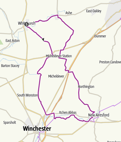 Map / The Alresford Eight