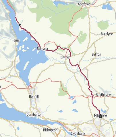 Map / WHW - 1st 25miles