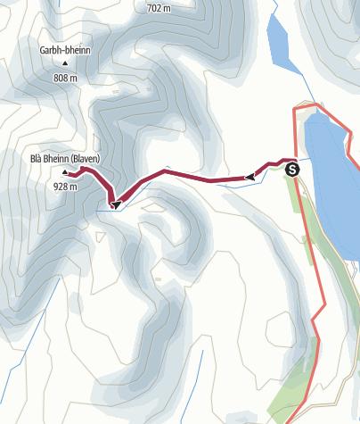 Map / Blabheinn, Skye