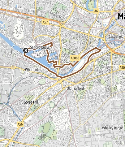 Map / MediaCity lunchtime Canal bike ride MOBIKE