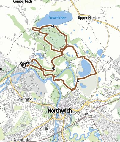 Map / Andrerton Nature Park, Carey Park, & Marbury Park