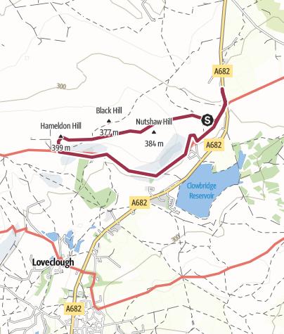 Map / Hambledon Hill loop  10 Apr 2013 19:26