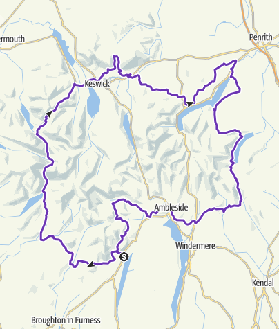 Map / Lakeland 100 2016