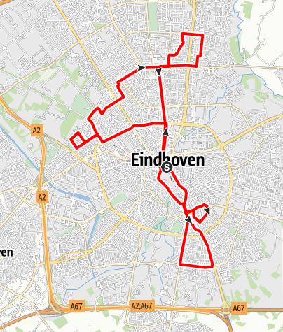 Map / Lichtjesroute 2012