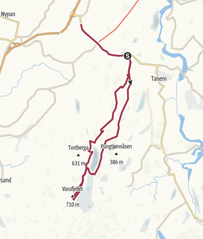 Map / Vassfjellet, Klæbu