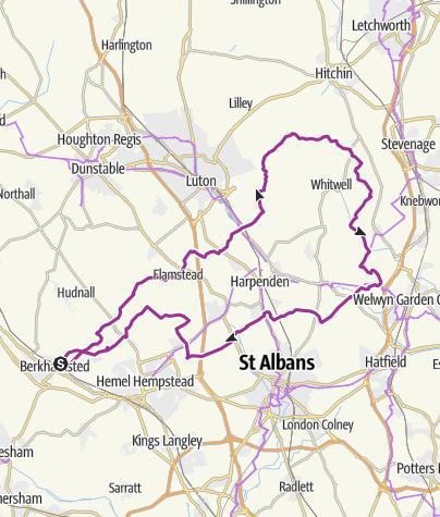 Map / Berkhamsted Tea Green