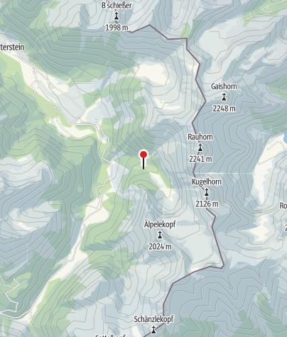מפה / אגם שטאוזה (Stausee)