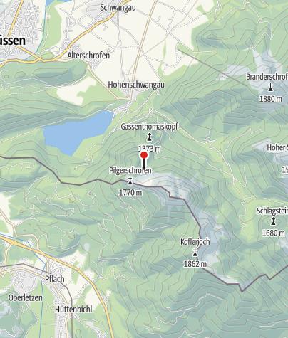 Karte / Wildsulz-Hütte